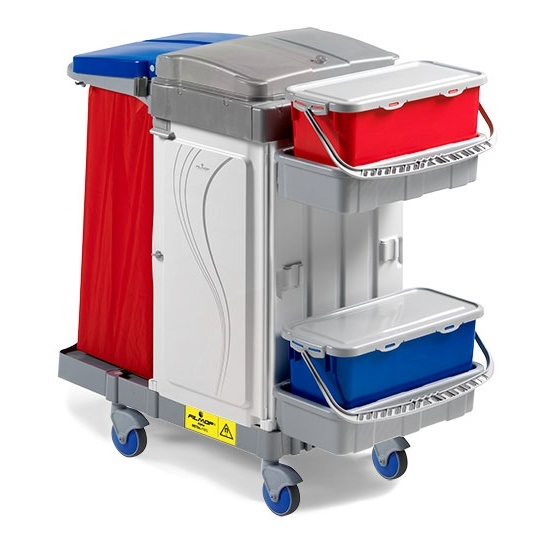 Healthcare & Hospital Cleaning Trolleys - Wipeout